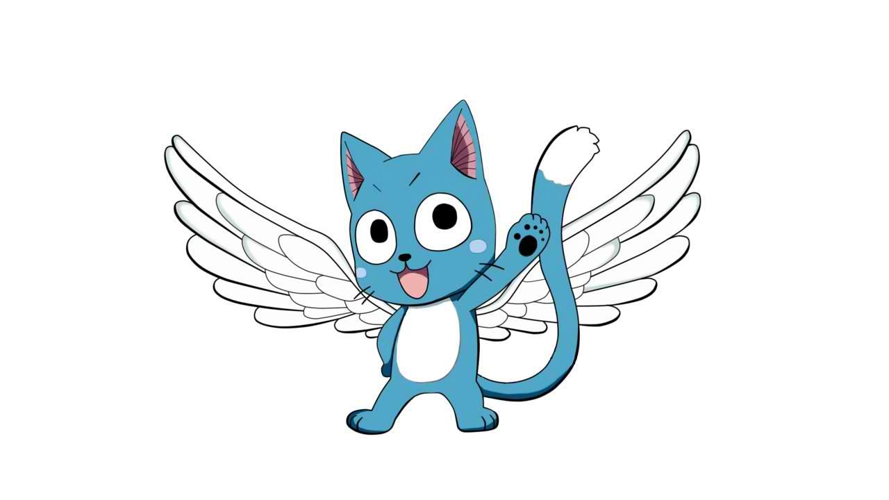 Fairy Cat Mascot