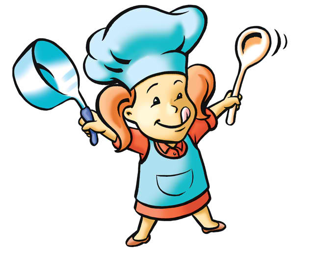 Female Chef Mascot