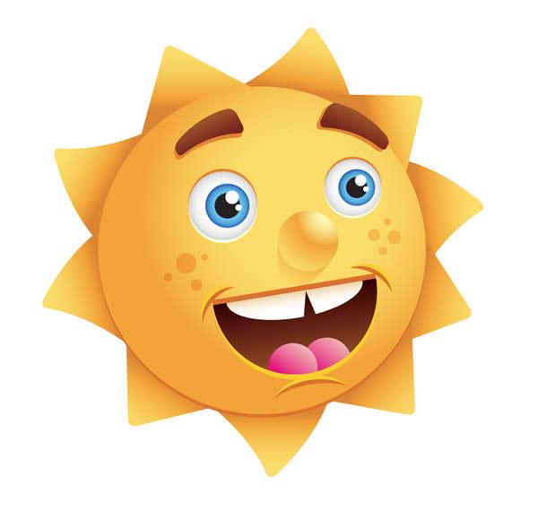 Mr. Sun Mascot