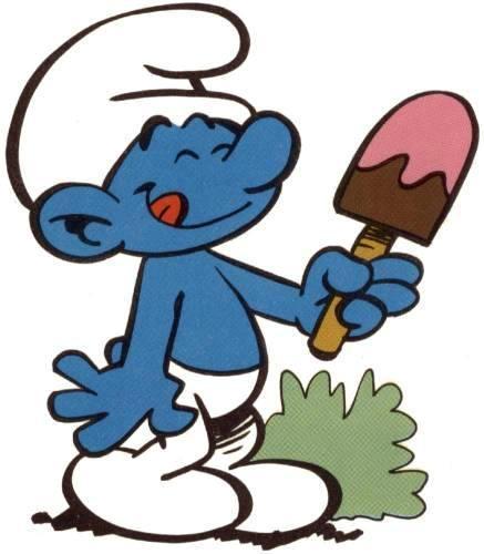 Blue Dwarf Mascot