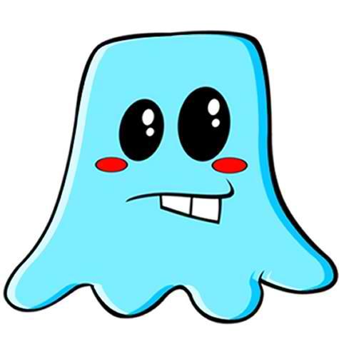 Jelly Alien Mascot