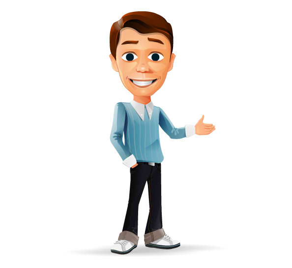 Simple Guy Mascot