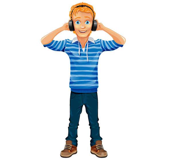 Music Boy Mascot