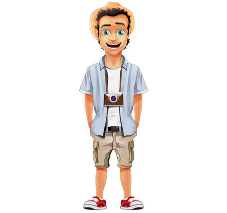 Tourist Mascot