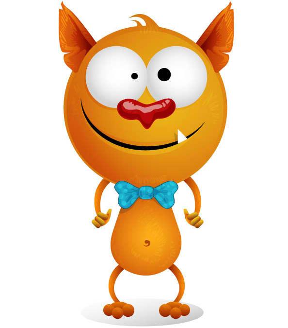 Funny Cat Mascot
