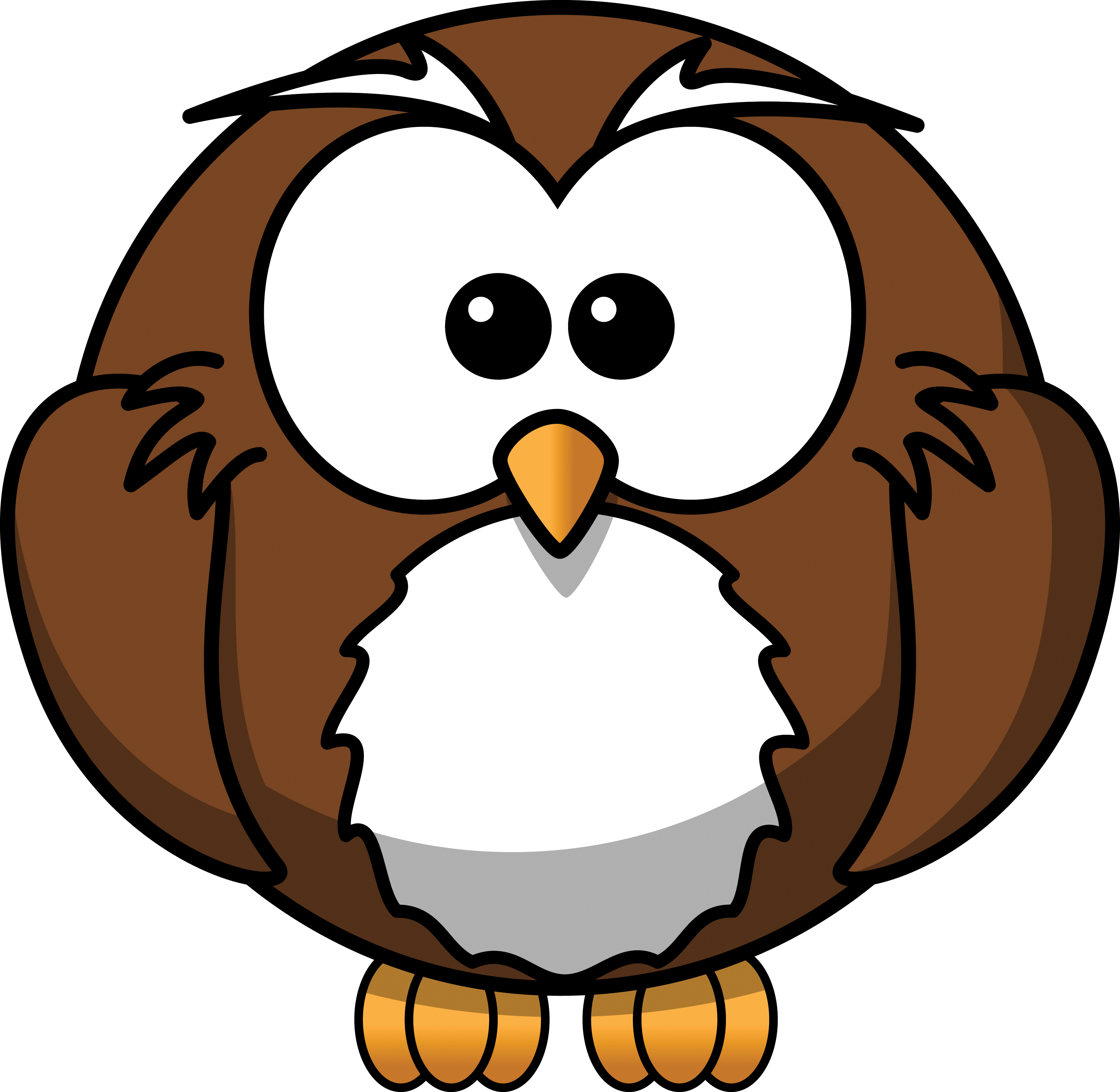 Cute Owl Mascot