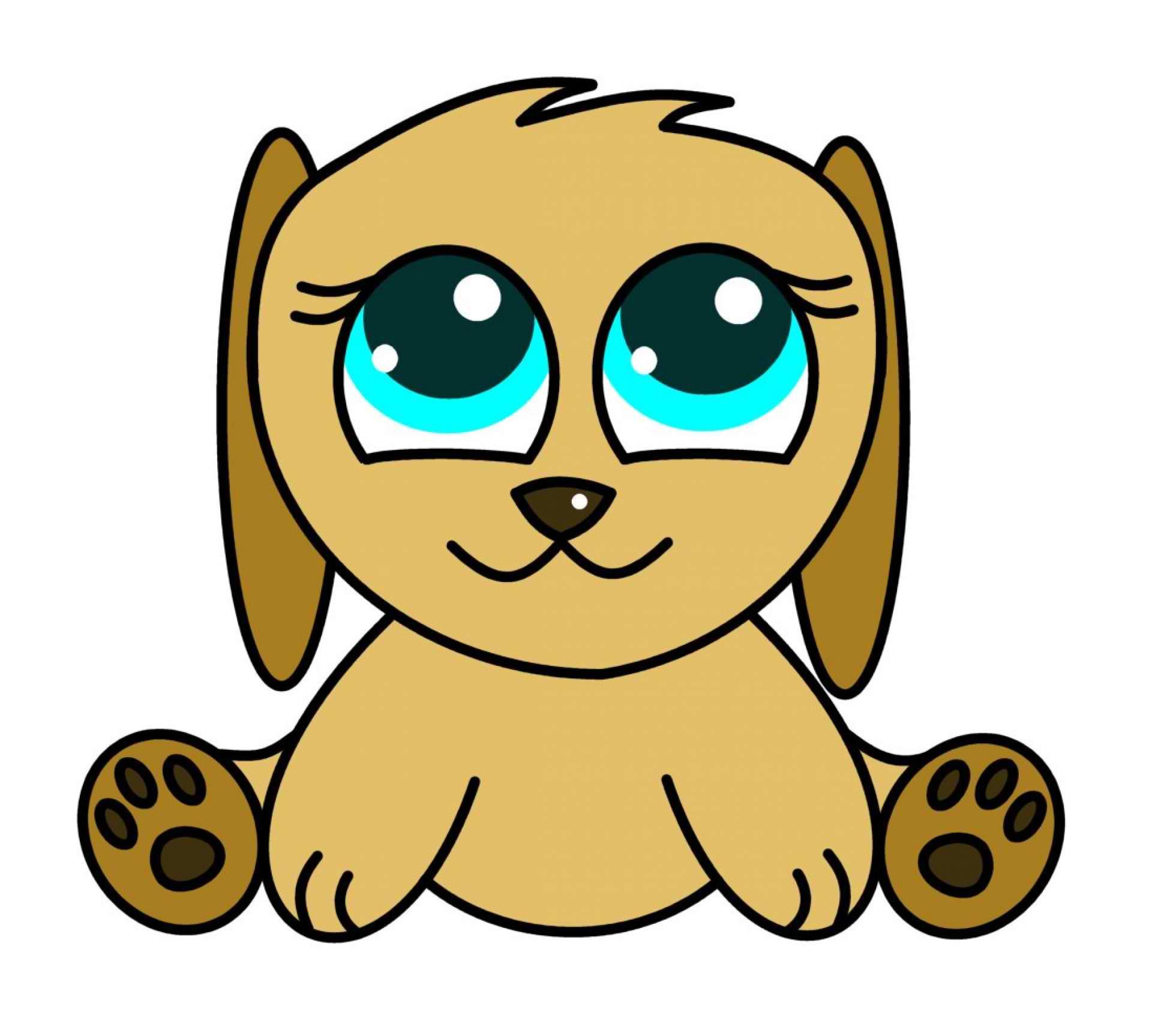 Cute Puppy Mascot