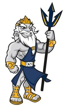 Greek God Mascot
