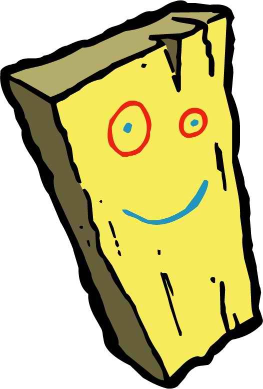 Plank Mascot
