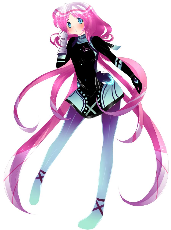 Otaku Anime Girl Mascot