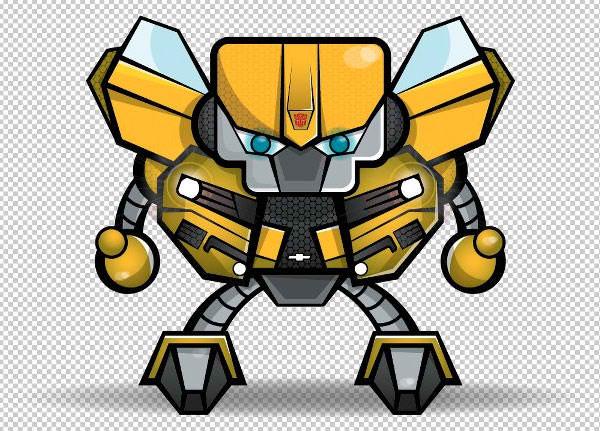 Transformer Robot Mascot