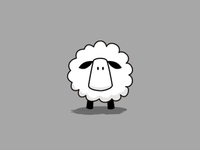 Lonely Sheep Mascot