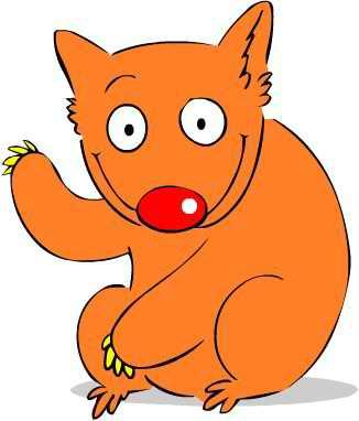 Wombat Mascot