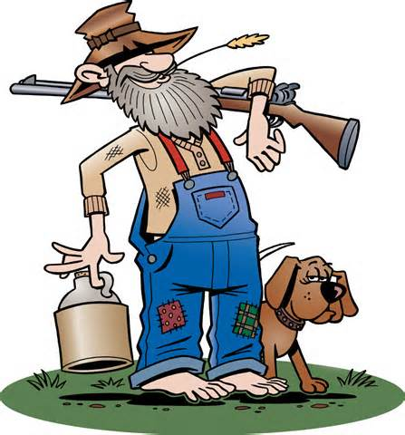 Old Man Farmer Mascot