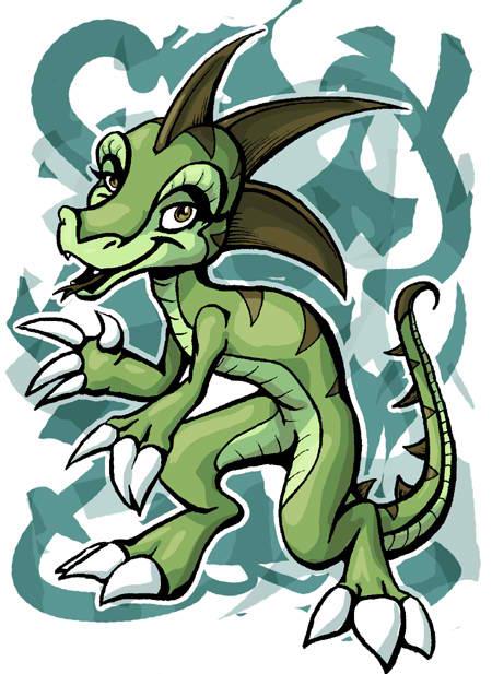 Lizard Mascot