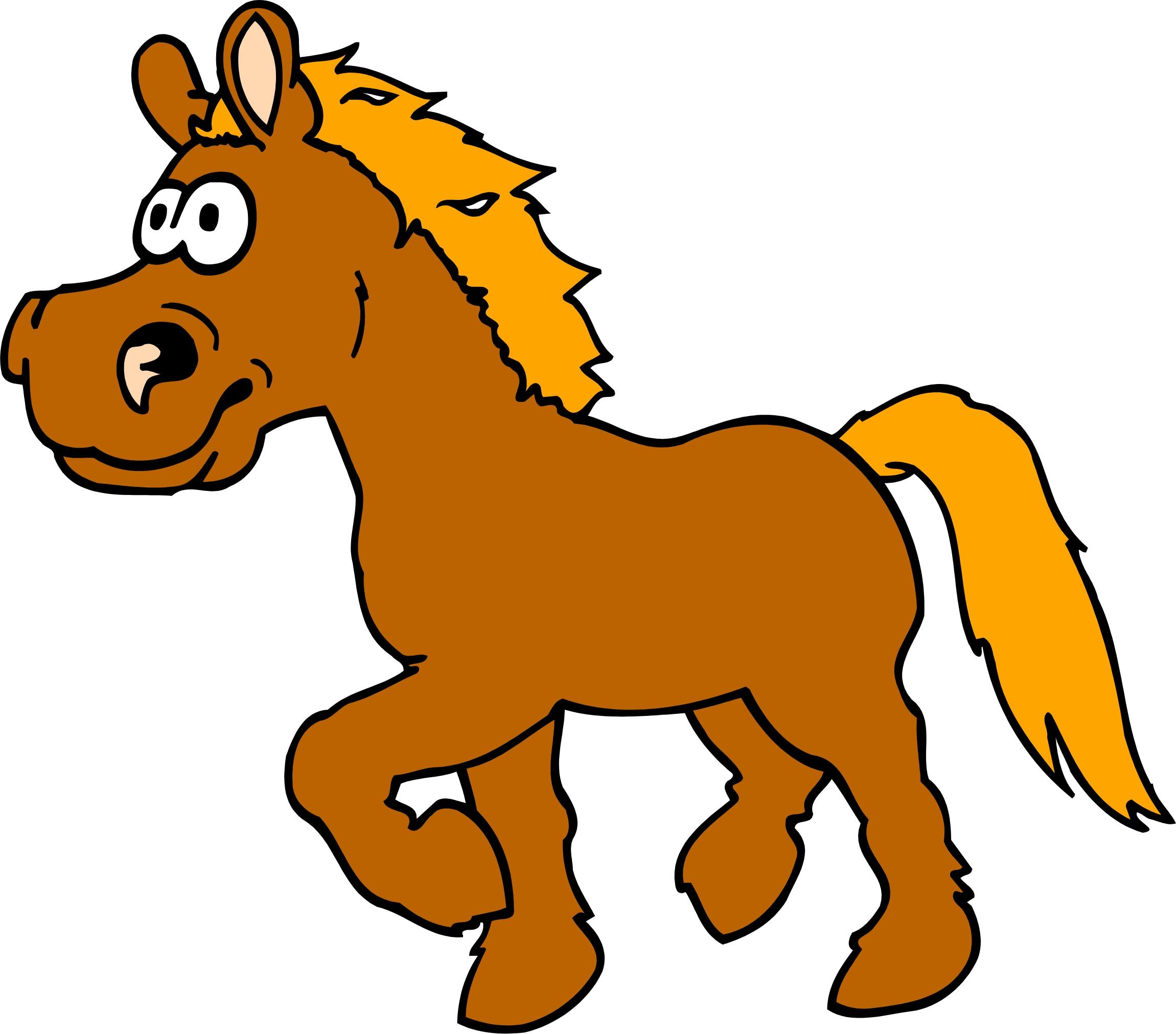 Funny Horse Mascot