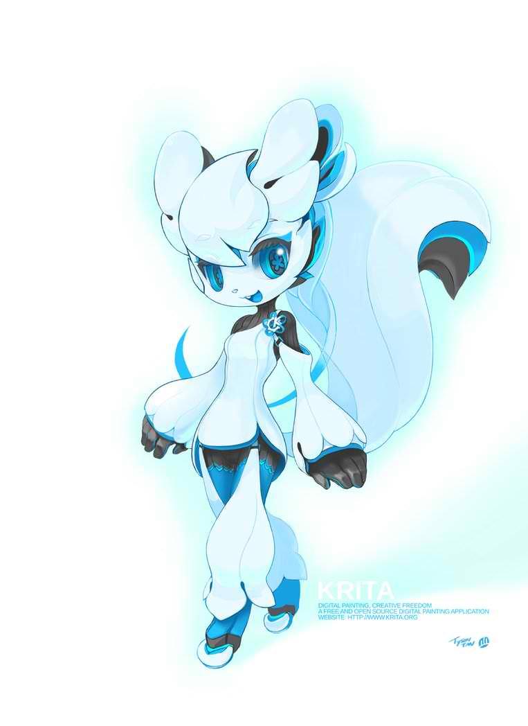 White Alien Mascot