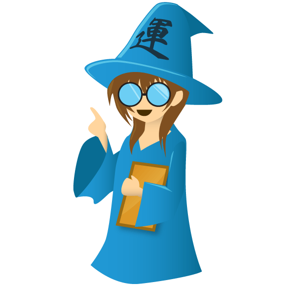 Female Wizard Mascot