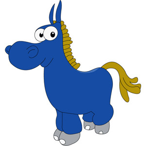 Cute Donkey Mascot