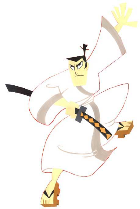 Samurai Mascot