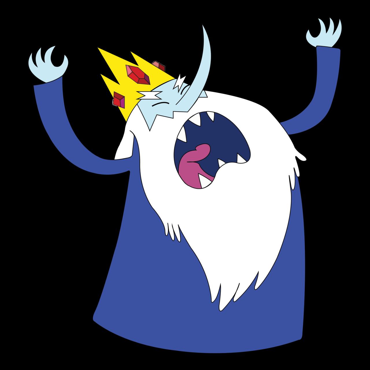 Ice King Mascot