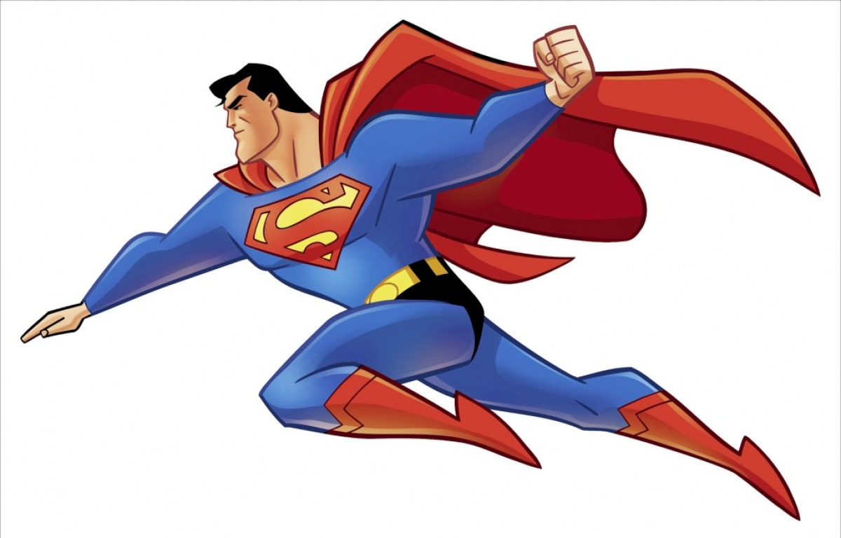 Superman Mascot