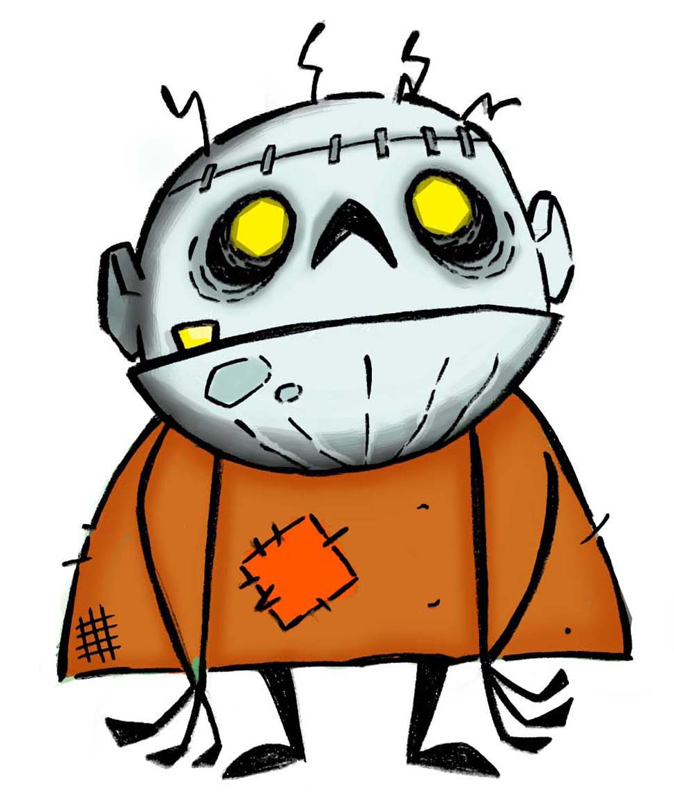 Little Zombie Mascot