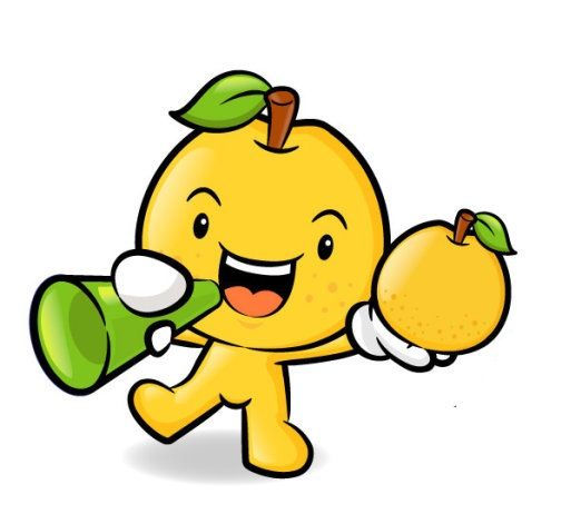 Cute Fruit Mascot