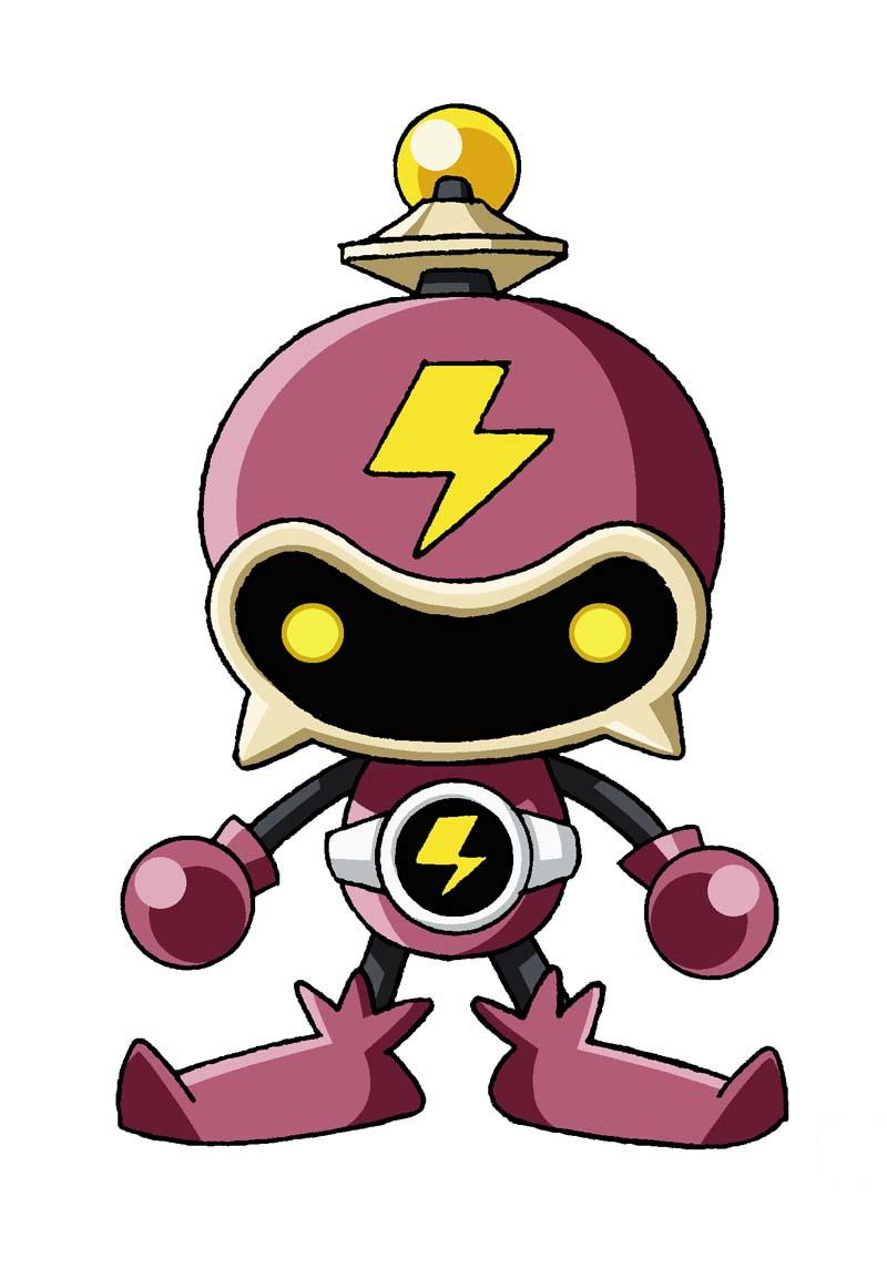 Thunder bot Mascot