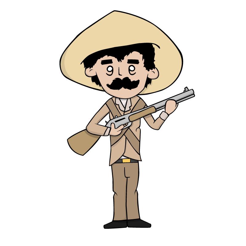 Mexican Gunmen Mascot