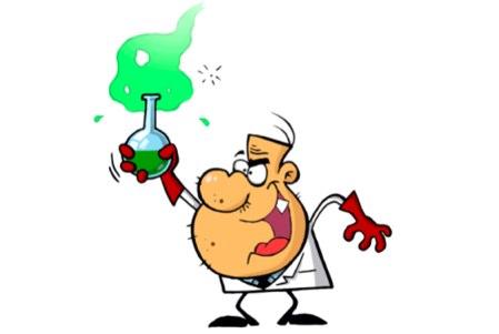 Mad Scientist Mascot