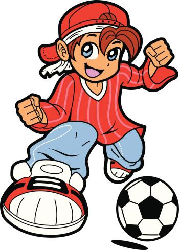 Soccer Boy Mascot