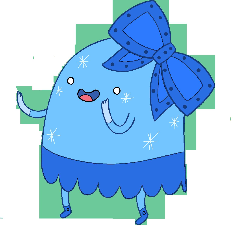 Gumdrop Mascot