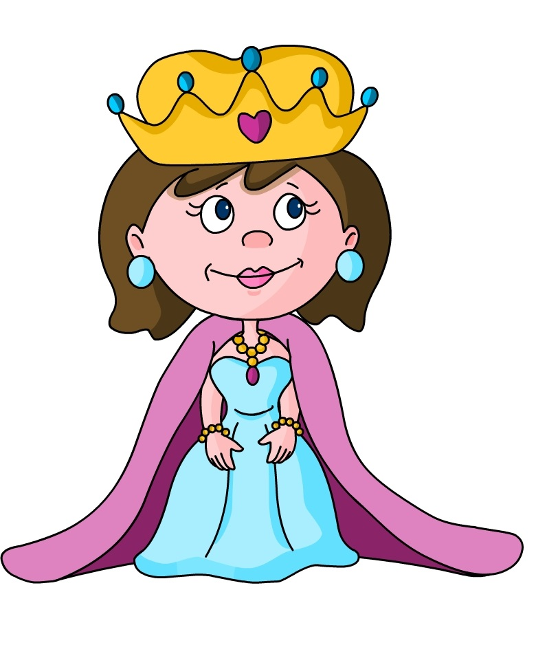 Little Queen Mascot