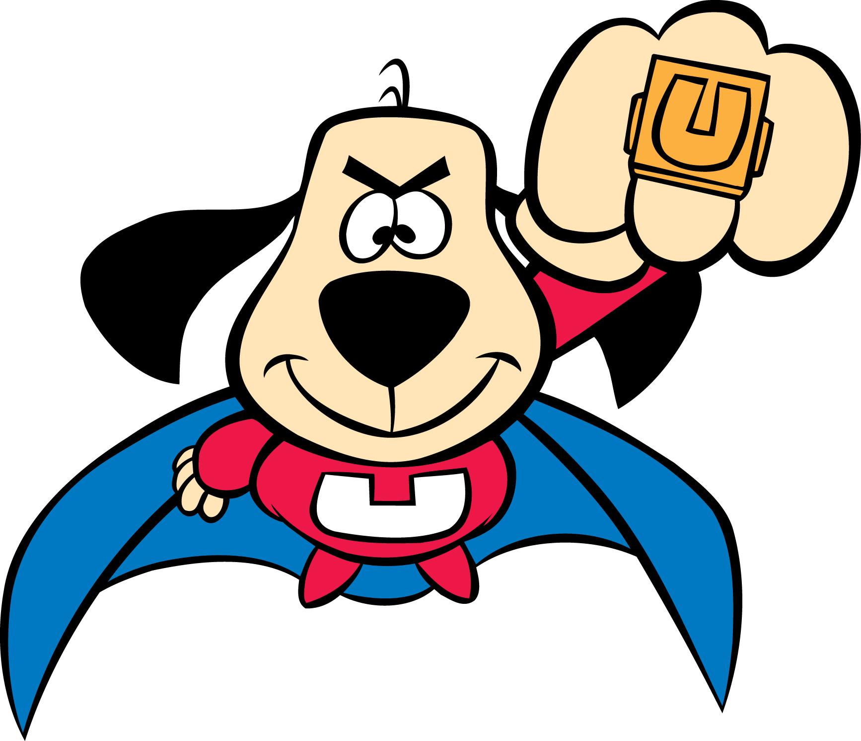 Super Dog Mascot