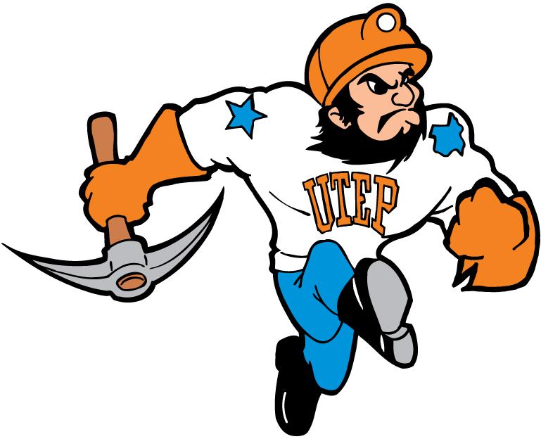 Muscular Miner Mascot