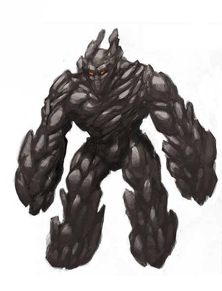 Stone Golem Mascot