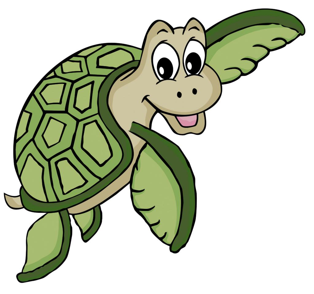 Funny Turtle Mascot