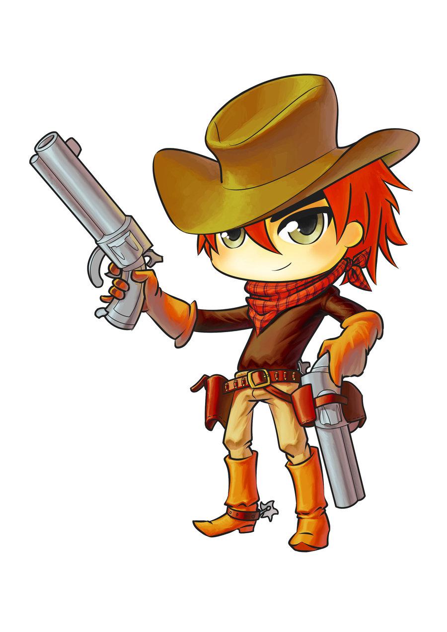 Cute Cowboy Mascot