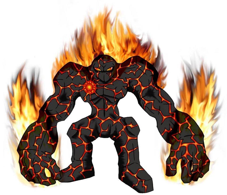 Fire Golem Mascot