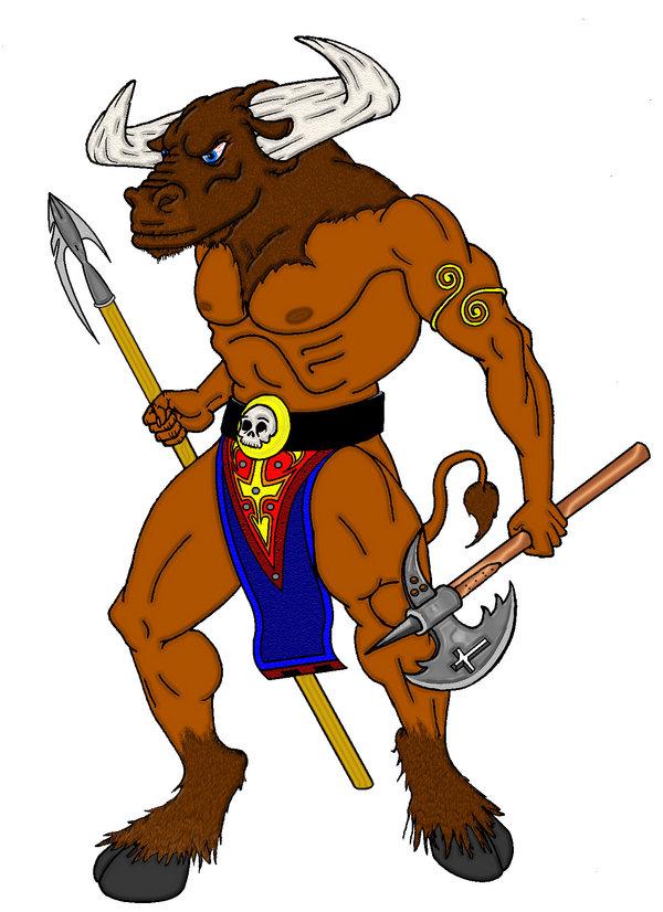 Minotaur Mascot