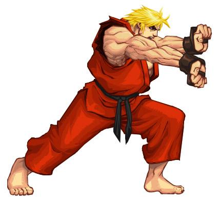 Karate Guy Mascot