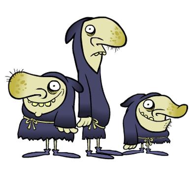 Peasant Mascots