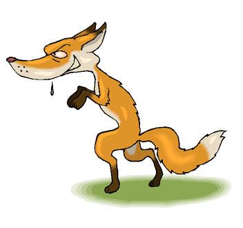 Sneaky Fox Mascot