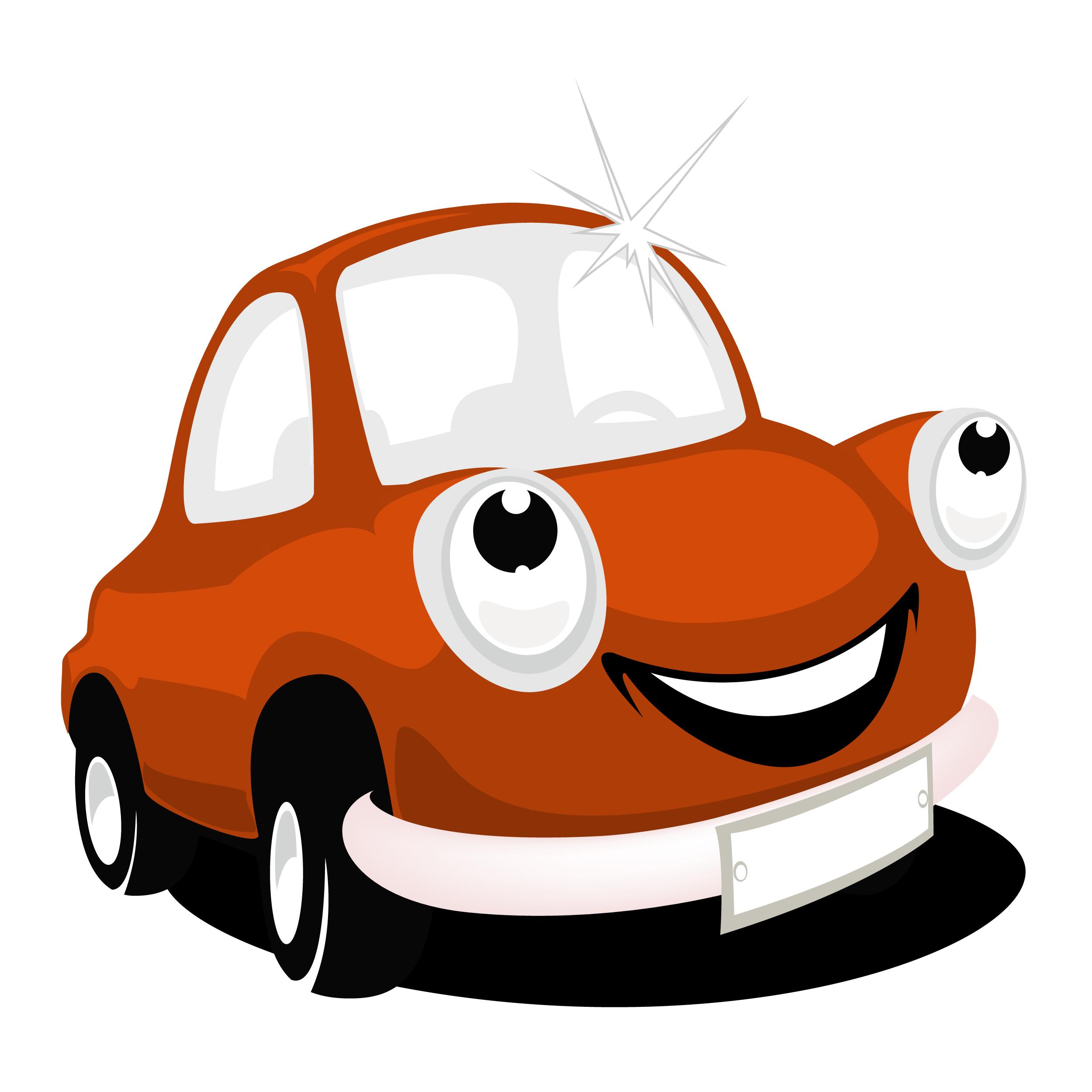 Red Car Mascot