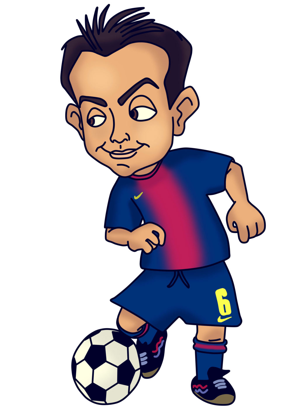 Best Soccer Player Mascot