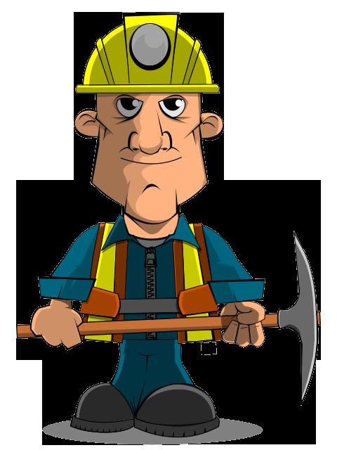 Mr. Miner Mascot