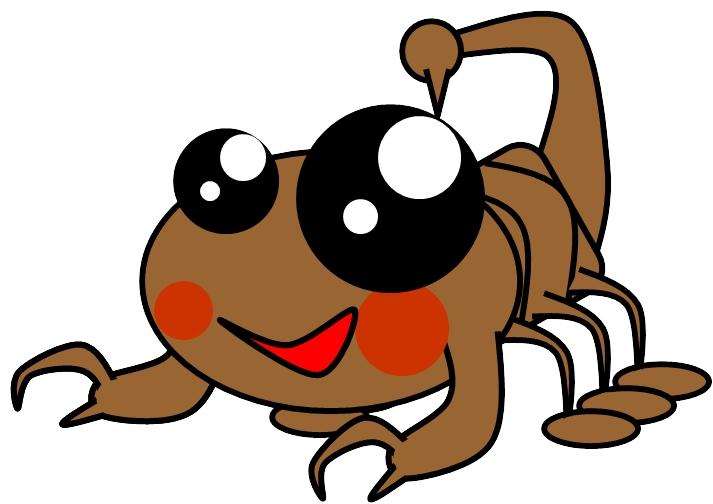 Cute Scorpion Mascot