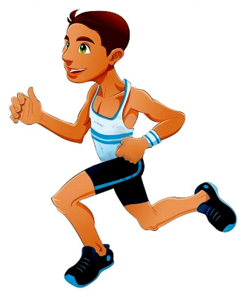 Marathon Runner Mascot
