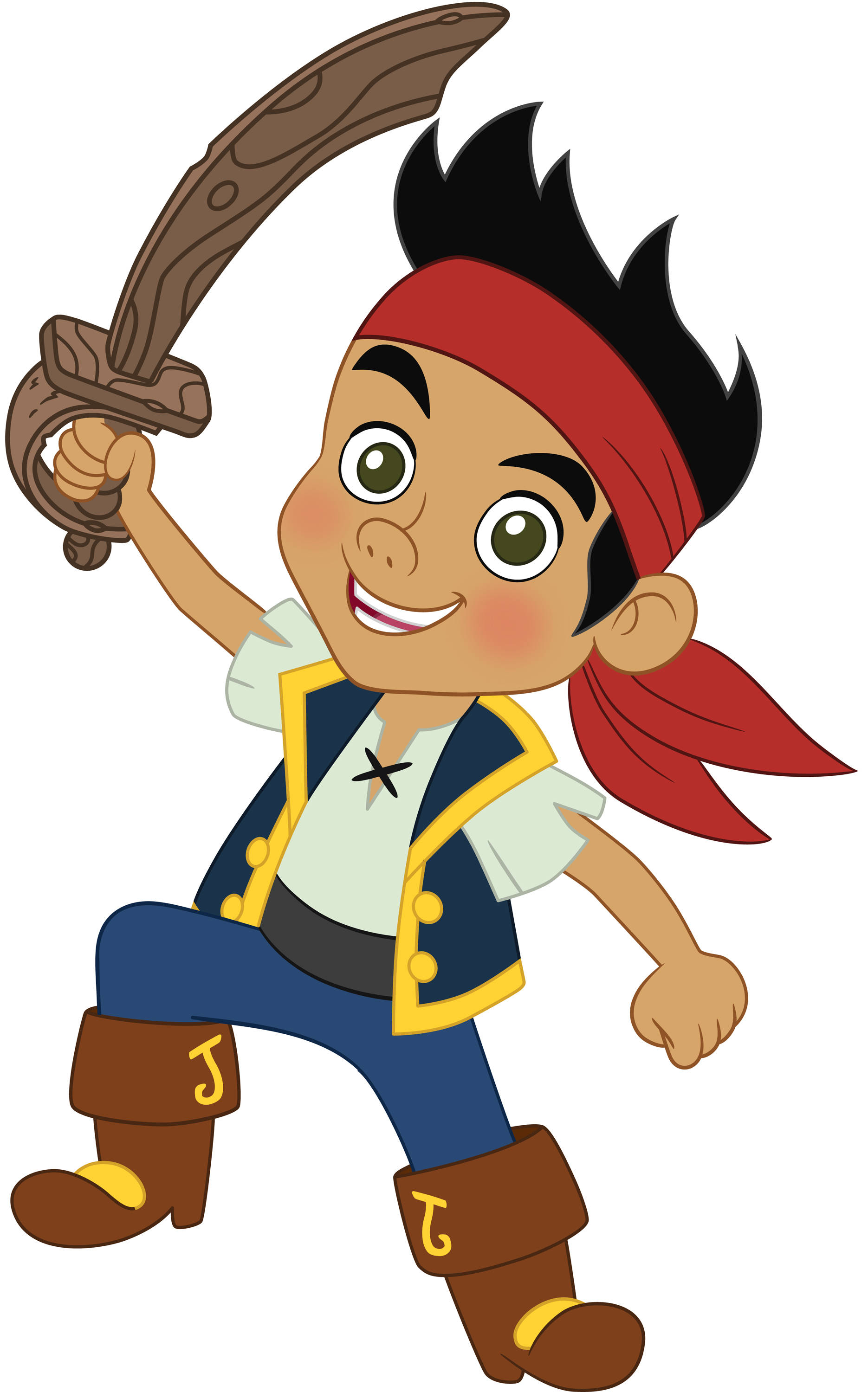 Young Pirate Kid Mascot